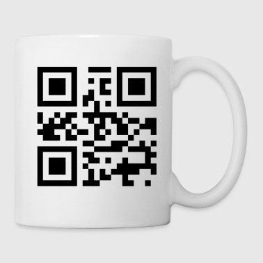 QR code I love you - Taza