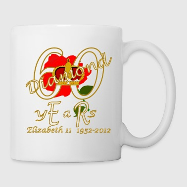 ER 60 diamond years 1952 2012 rose gold - Mug