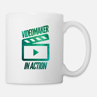 Filmemacher Filmemacher in Aktion - Tasse