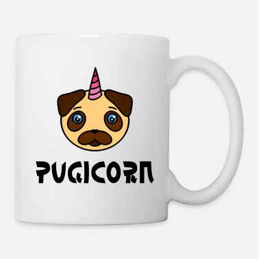 Pugicorn, Mopshorn, Mophorn simple ~ - Mug