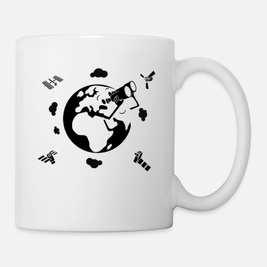 Observation Earth Observing Earth Observation - Mug