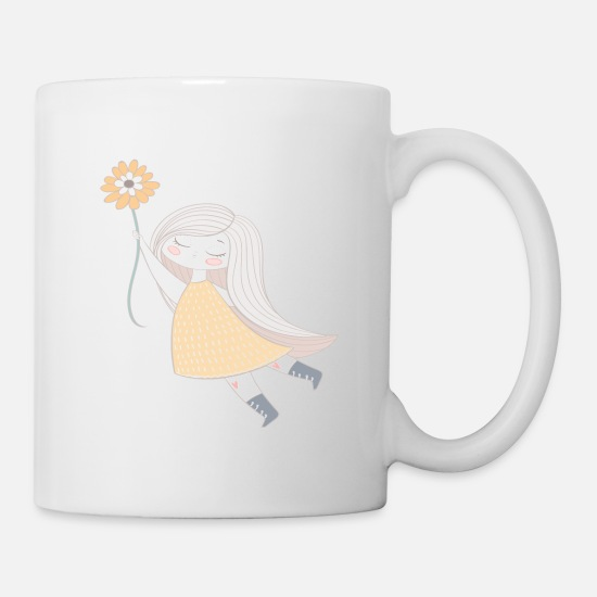 Birthday Mugs & Drinkware - girl - Mug white