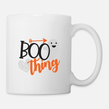Girlfriend Boo thing gift Halloween monster witch ghosts - Mug