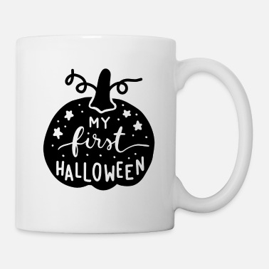 Hexe My first halloween Geschenk Halloween Monster Hexe - Tasse