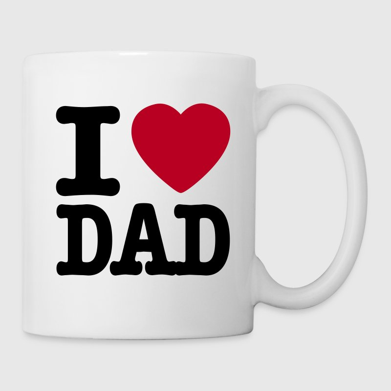 i love dad SE - Mugg