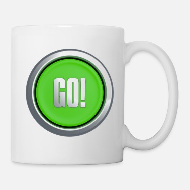 Key Button Go Button - Mug