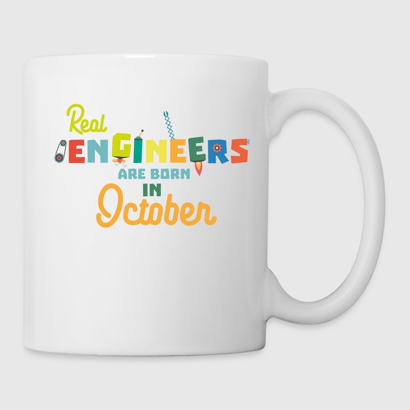 Engineers are born in October 52p-Design - Mug