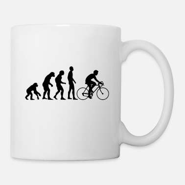 Bike Human Evolution road bike - Mug