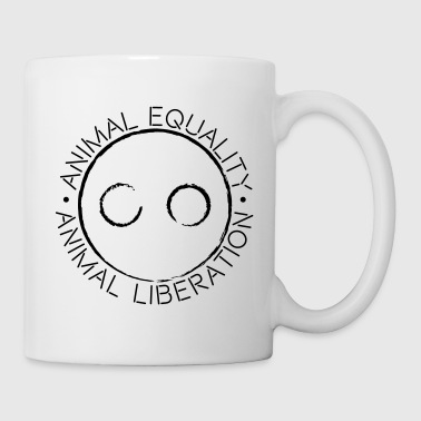ANIMAL EQUALITY ANIMAL LIBERATION LOGO - Mug