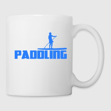 Stand Up Paddling Paddle Stehpaddeln Surfing SUP - Tasse