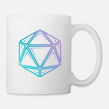 Tribal Tribal d20 fade - dnd dungeons and dragons - Mug