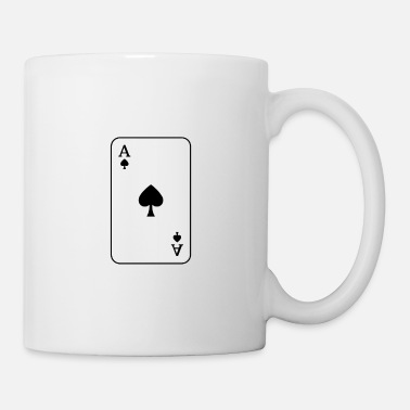 Ace Of Spades Ace of spades playing card - Mug
