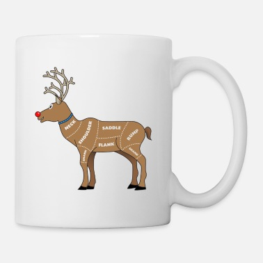 Meat Reindeer Meat for Christmas - Mug