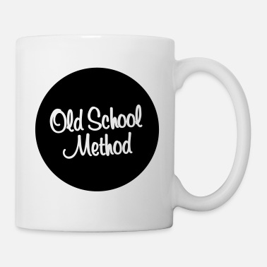 Old School Old School Method - Mug blanc