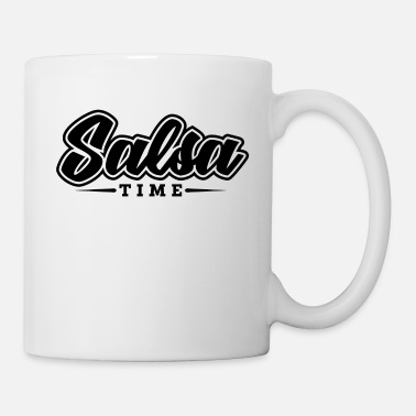Jazz Salsa Dance Music Time Black Cool Gift - Mug blanc