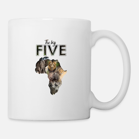 Buffle Mugs et récipients - Big Five - Mug blanc