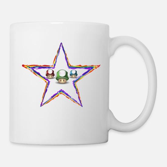 Star Fun Jeu Blanc Mario Mug Luigi Power 1JlcF3TK
