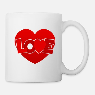 Love With Heart Love with heart - Mug