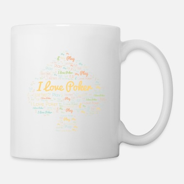 Bluff Paroles de poker Pik Love Player Card Gift - Mug