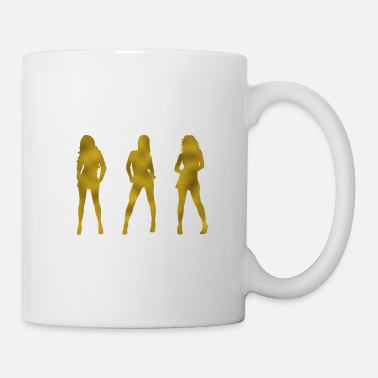 Sexy Girl Sexy Girls Gold - Tasse