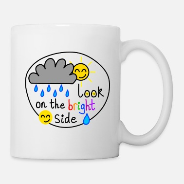 Bright Look On The Bright Side - Mug