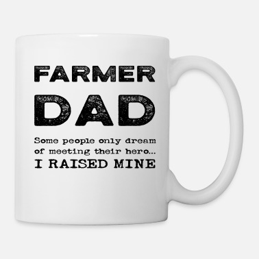 Clothing Proud Farmer Dad Father Of An Agriculturalist - Mug