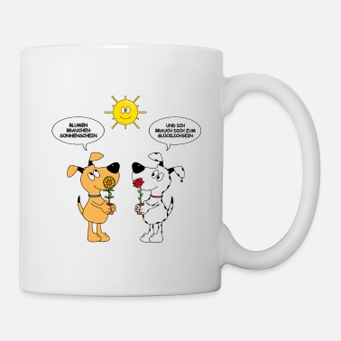 Civil Partner Dogs - Love - Sunshine - Sunflower - Rose - Mug