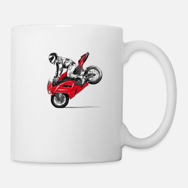 Stunts motorcycle stunt - Mug