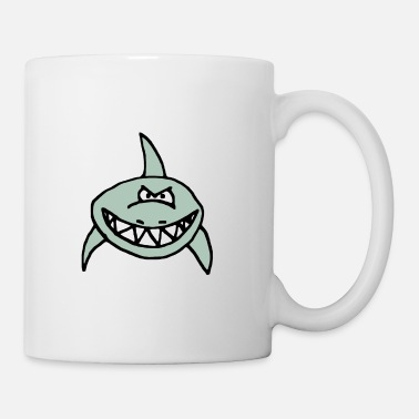 Character Bad shark, teeth, cartoon - Mug