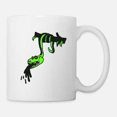 Grain Natter Animated snake on a tree - Mug