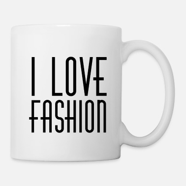 Individually I LOVE FASHION 90s STYLE RETRO 1990 90ies PARIS - Mug