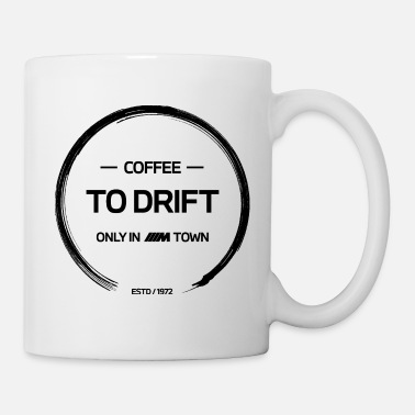 Town BMW M Town Coffee to drift - Tasse