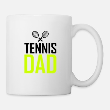 Tennis Is Life Tata tenisowy - Kubek