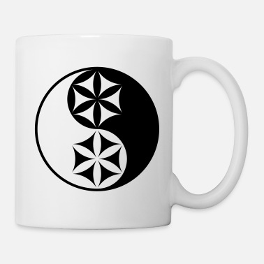 Geometry Yin Yang | Sacred Geometry - Mug