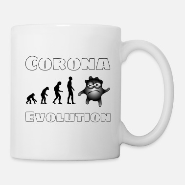 Corona Evolution Shirt, Covid 19, influenza - Krus