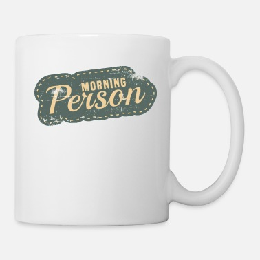 Kids Drinking Morning Person cute and adorable tee design for - Mug