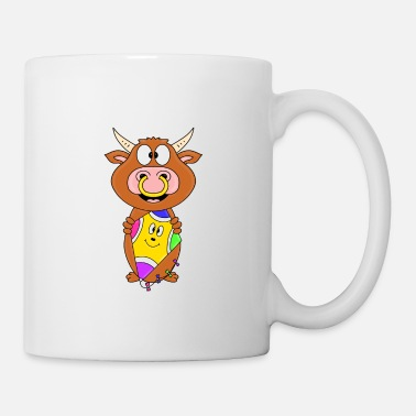 Kiters Funny bull - cow - bull - beef - dragon - Mug