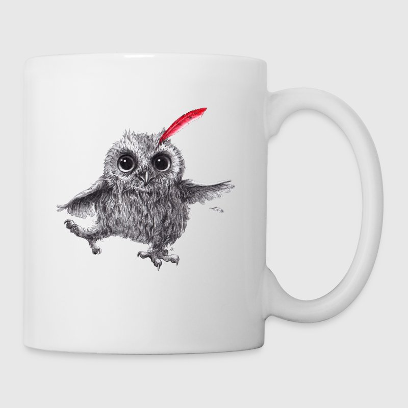 Chief Red - Happy Owl - Mugg