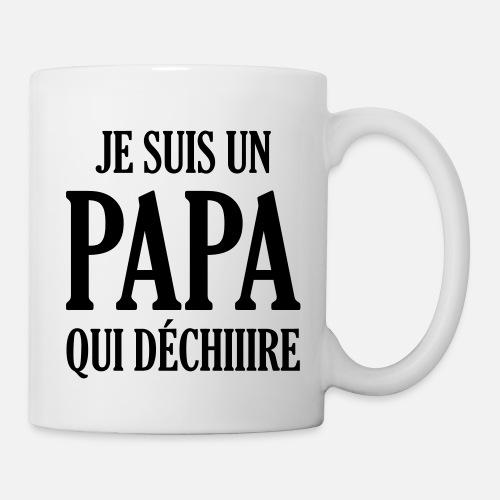 Papa Vati Vater Vatertag Geburtstag Dad Familie Tasse Spreadshirt