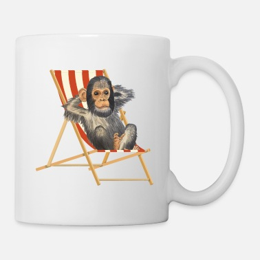Holiday Monkey vacation - Mug