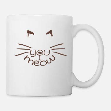 Colour meow love cat - Mug