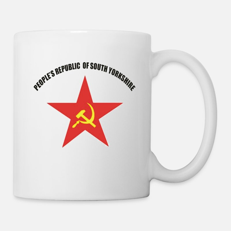 Sheffield Mugs & Drinkware - People's Republic of South Yorkshire - Mug white