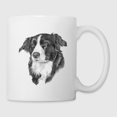 border collie S - Mugg