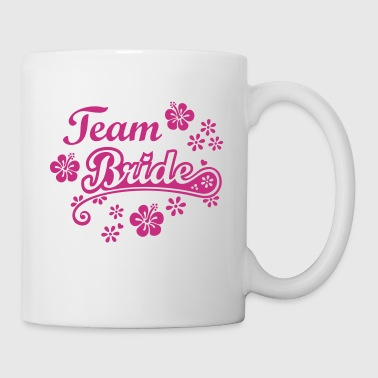 Team Brud Bride svensexa party Gifta Brudgum  - Mugg