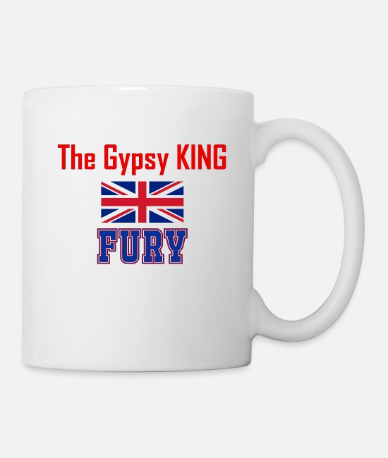 Gypsy Mugs & Drinkware - Fury The Gypsy King Gift - Mug white