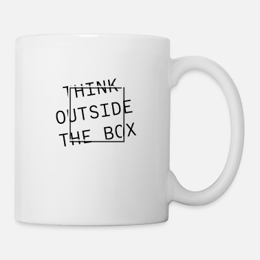 Think Outside The Box - Tasse