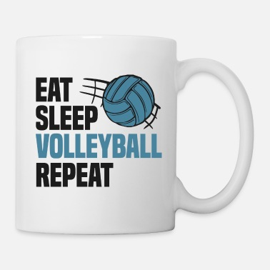 Équipe De Volleyball Equipe de Volleyball Say Volleyballer - Mug blanc