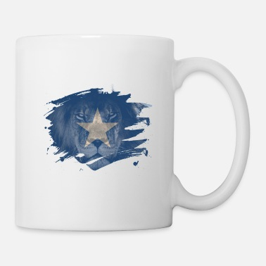 Painter Somalia Lion Flag Paint Splatter - Mugg
