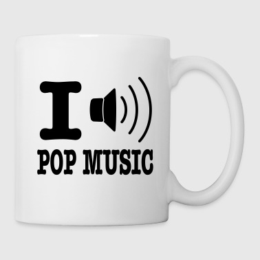 i love pop music - Mug