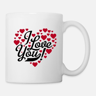 Je Taime i love you - Mug